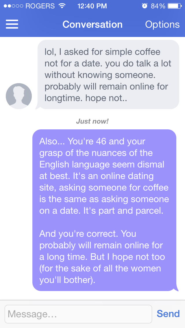 How to message someone on dating sites
